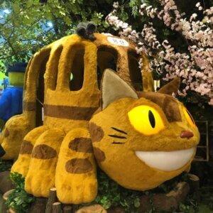 cat bus! crazy!