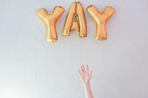 Yay! Celebrate!