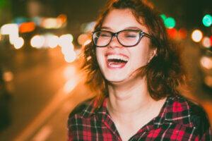 big laugh